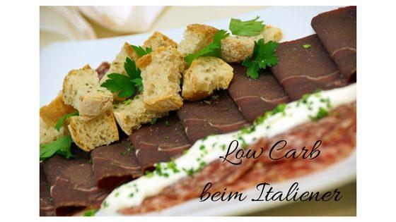Low Carb beim Italiener