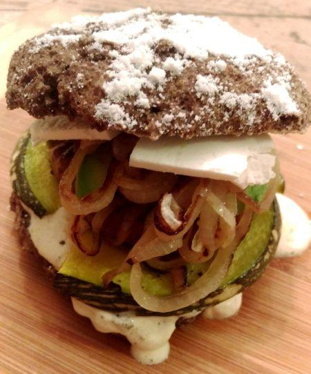 Low Carb Herbst Burger