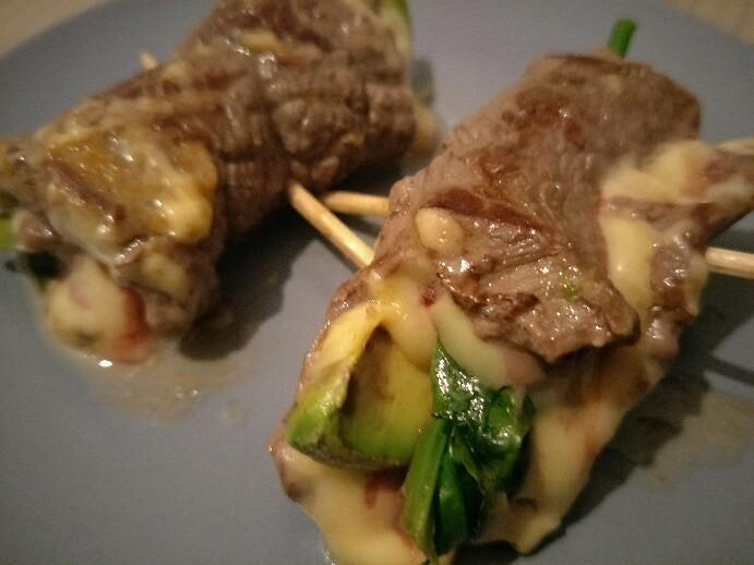 Low Carb Steak-Rollups