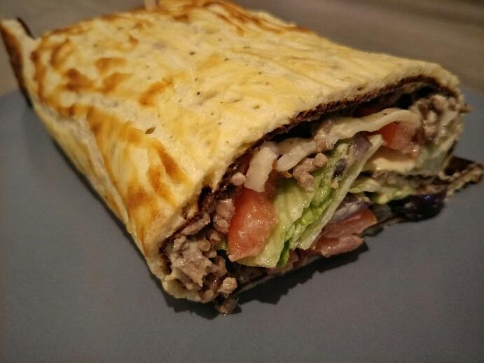 Low Carb Bic Mac Rolle