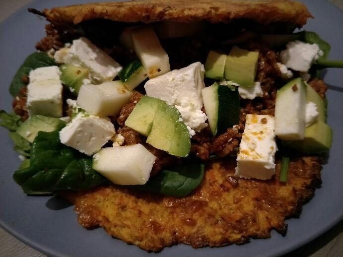 Low Carb Möhrentacos
