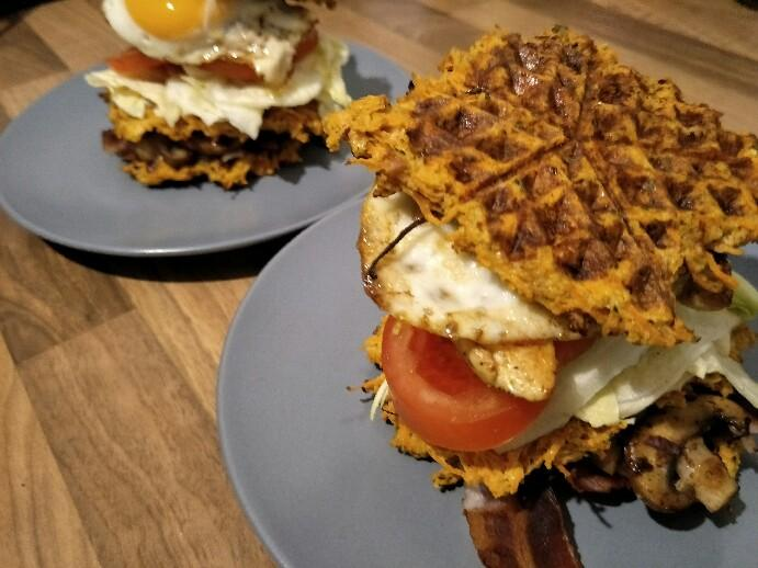 Low Carb Clubsandwich