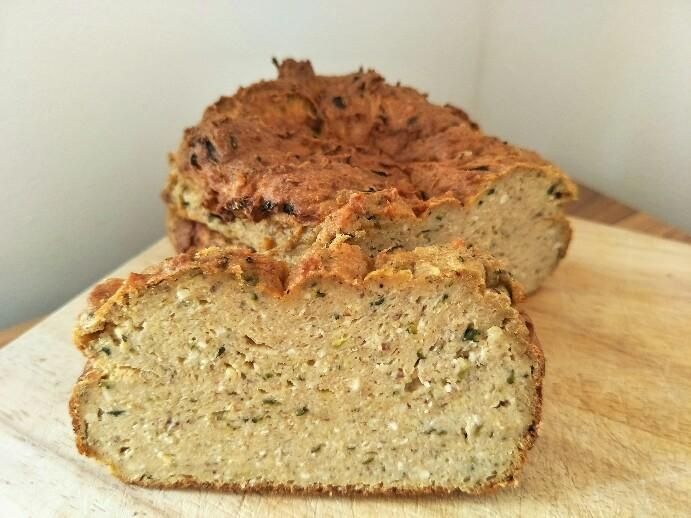 Low Carb Zucchini Brot