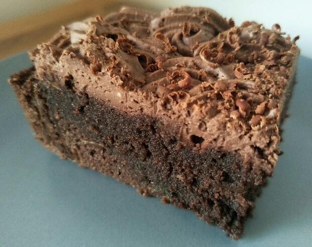 Low Carb doppelt schokoladige Brownies