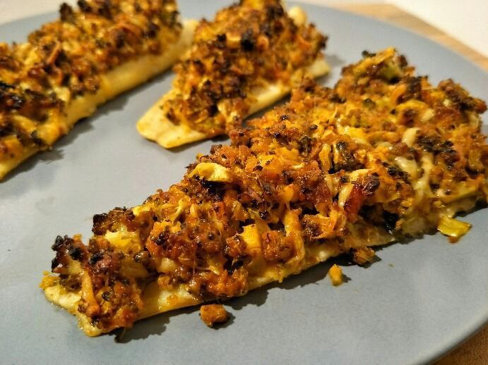 Low Carb Fischfilet mit Pesto-Brokkoli Haube
