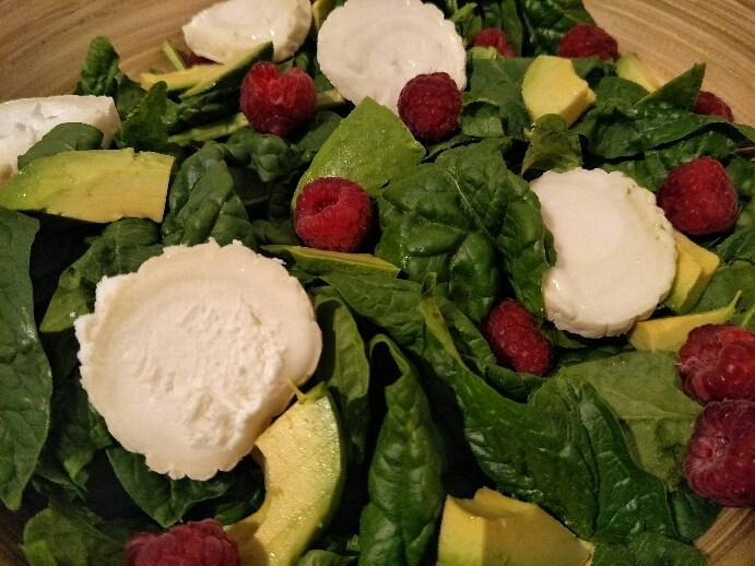 Low Carb Sommersalat