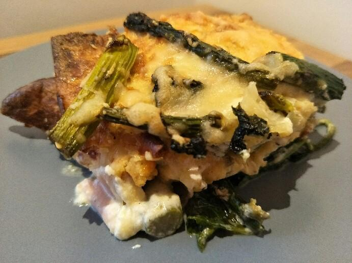 Low Carb Spargel Lasagne