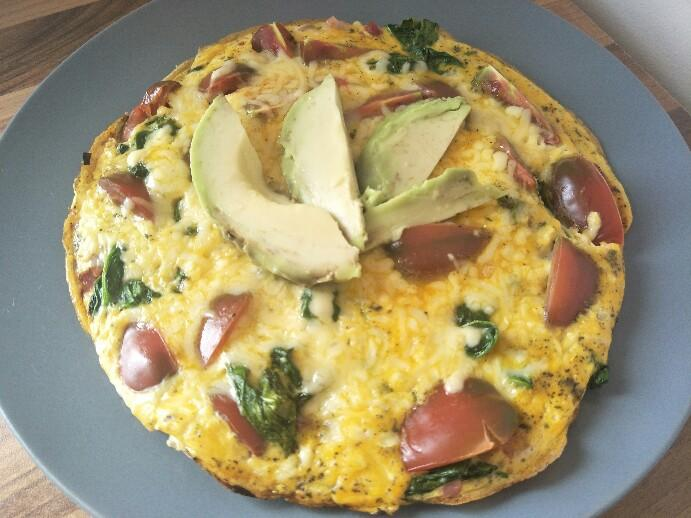 Low Carb Omelettpizza