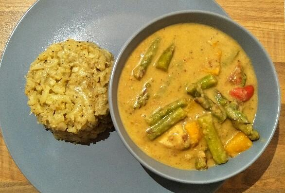 Low Carb Spargelcurry