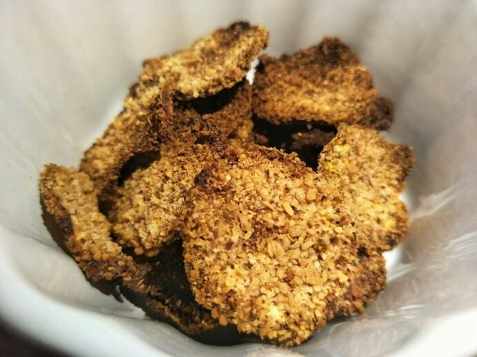 Low Carb'd Crunchy Zucchini Chips