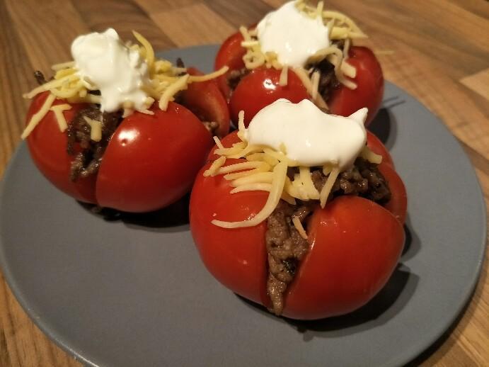 Low Carb Taco Tomaten