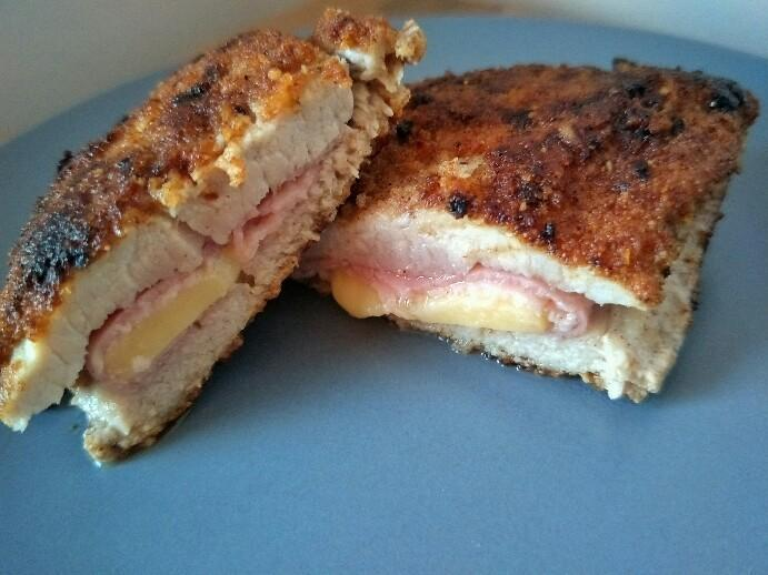 Low Carb'd Cordon Bleu