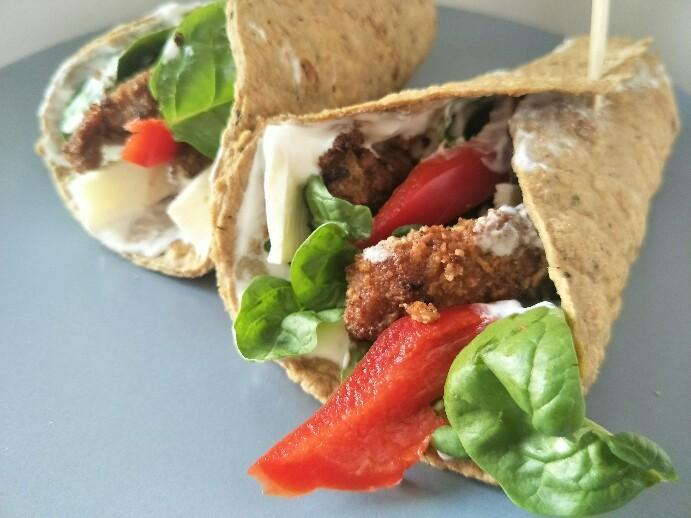 Low Carb Leinsamenwrap