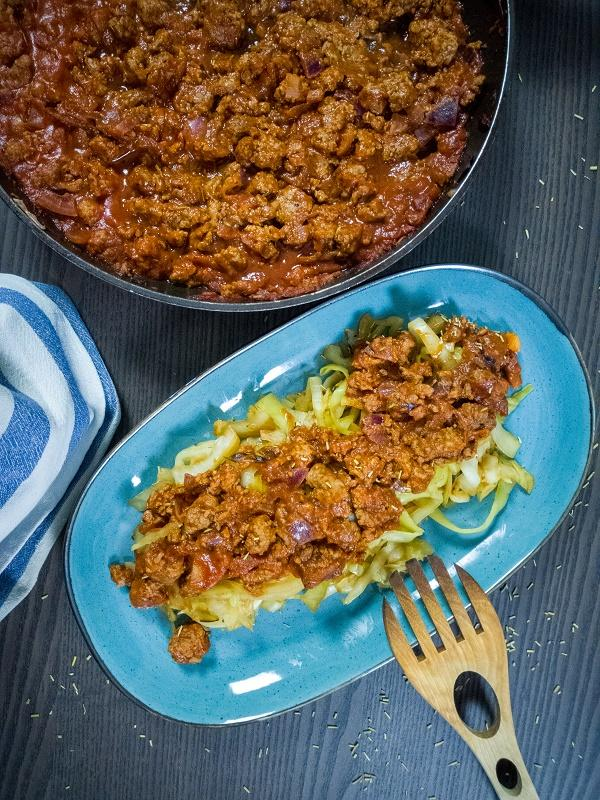 Low Carb Kohl-Bolognese